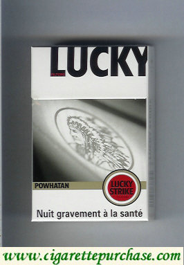 Discount Lucky Strike Powhatan Filters cigarettes hard box