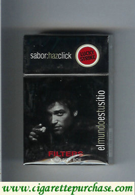 Discount Lucky Strike Sabor Haz Chick Filters cigarettes hard box