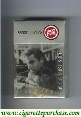 Discount Lucky Strike Sabor Haz Chick Lights King Size Box cigarettes hard box