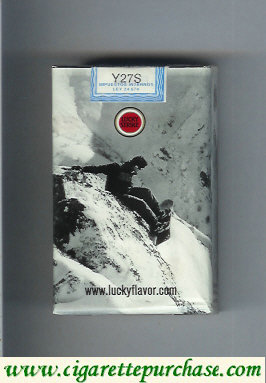 Discount Lucky Strike Snowpacks cigarettes soft box