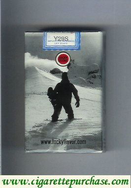 Discount Lucky Strike Snowpacks soft box cigarettes