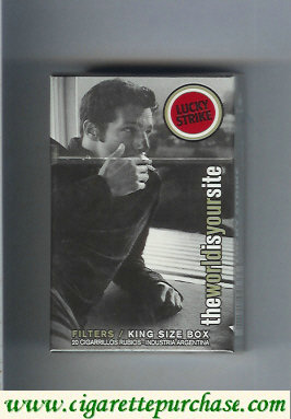 Discount Lucky Strike TheWorldIsYourSite cigarettes hard box