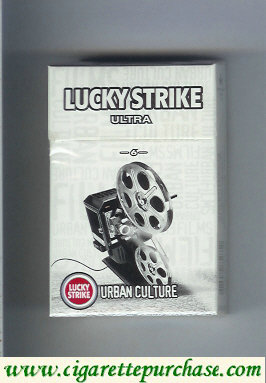 Discount Lucky Strike Ultra 6 Urban Culture cigarettes hard box