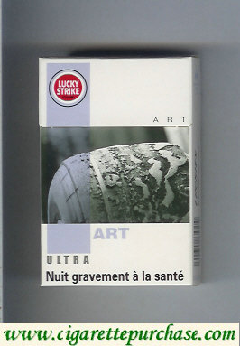 Discount Lucky Strike Ultra Art cigarettes hard box