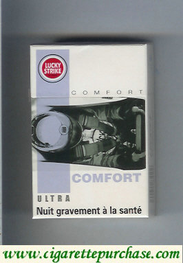 Discount Lucky Strike Ultra Comfort cigarettes hard box