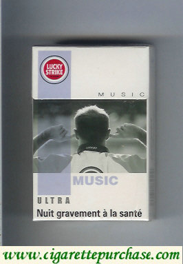 Discount Lucky Strike Ultra Music cigarettes hard box
