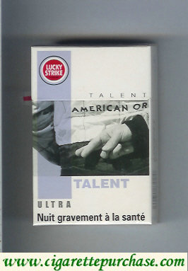 Discount Lucky Strike Ultra Talent cigarettes hard box