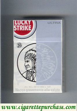 Discount Lucky Strike Ultra cigarettes hard box