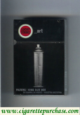 Discount Lucky Strike Urbconnexion Art cigarettes hard box