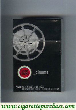 Discount Lucky Strike Urbconnexion Cinema cigarettes hard box