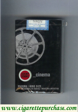 Discount Lucky Strike Urbconnexion Cinema cigarettes soft box