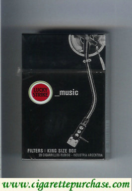Discount Lucky Strike Urbconnexion Music cigarettes hard box
