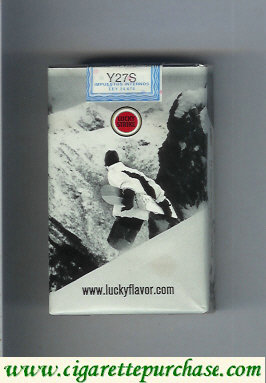 Discount Lucky Strike cigarettes Snowpacks soft box