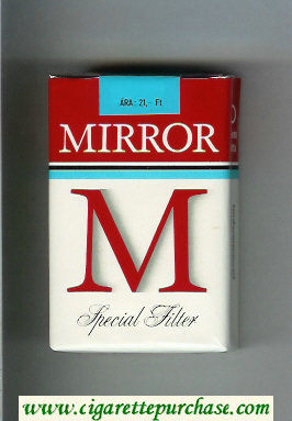 M Mirror Special Filter cigarettes soft box