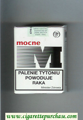 M Mocne soft box cigarettes