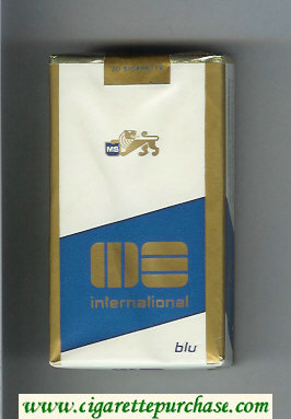 Discount MS Internetional Blu 100s cigarettes soft box