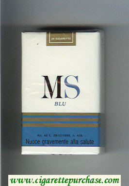 Discount MS Blu cigarettes soft box