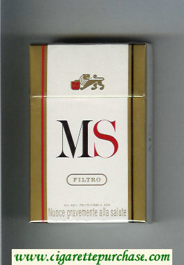 Discount MS Filtro cigarettes hard box
