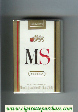 Discount MS Filtro cigarettes soft box