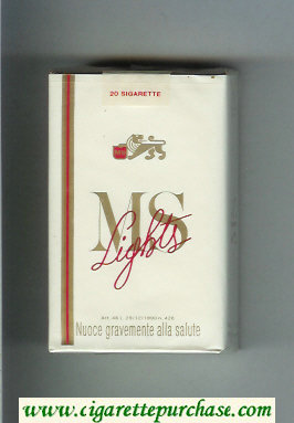 Discount MS Lights cigarettes soft box