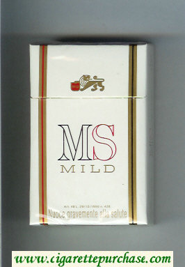 Discount MS Mild cigarettes hard box