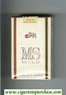MS Mild cigarettes soft box