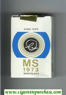 MS 1973 cigarettes soft box