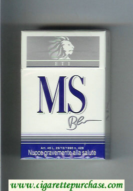 Discount MS ETI Blu cigarettes hard box