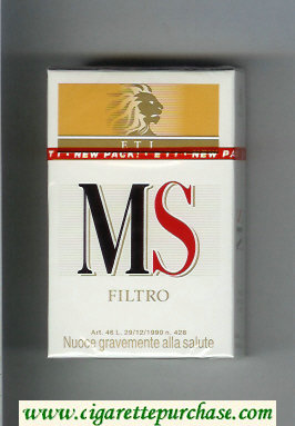 MS ETI Filtro cigarettes hard box