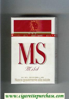 MS ETI Mild cigarettes hard box
