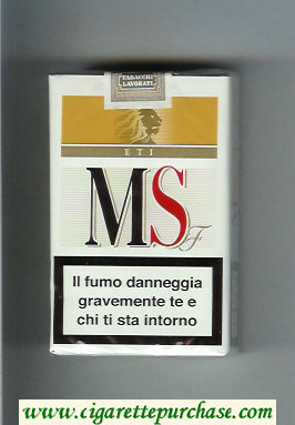 MS ETI F cigarettes soft box
