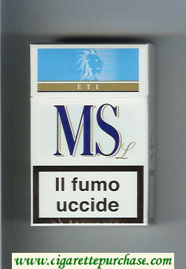 MS ETI L cigarettes hard box