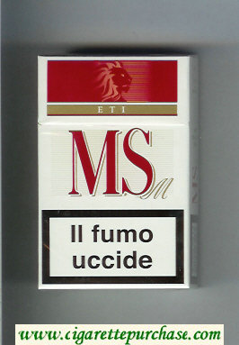 Discount MS ETI M cigarettes hard box