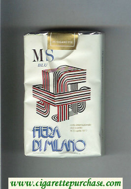 Discount MS Fiera Di Milano 1977 Blu cigarettes soft box
