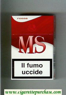 Discount MS Messis Summa Rosse cigarettes hard box
