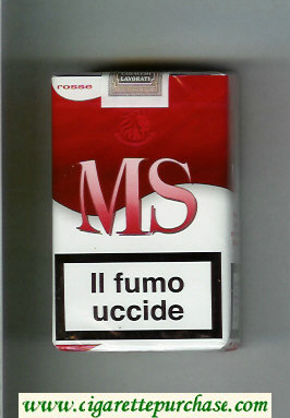 Discount MS Messis Summa Rosse cigarettes soft box