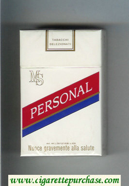 MS Personal cigarettes hard box