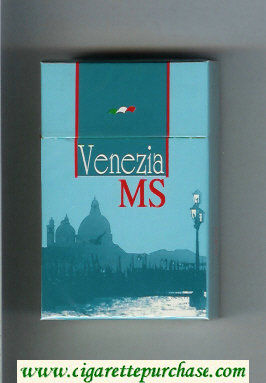MS Venezia cigarettes hard box