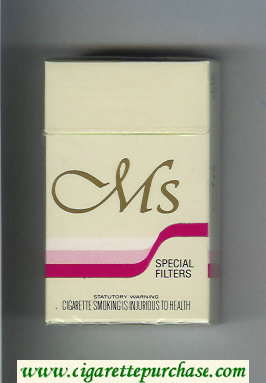 Ms Special Filter cigarettes hard box