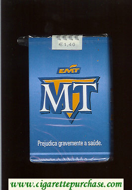 MT cigarettes soft box