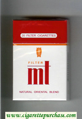 Mt Filter Natural Oriental Blend cigarettes hard box