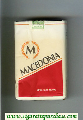 Macedonia M cigarettes soft box