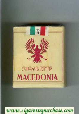 Macedonia Sigarette cigarettes soft box