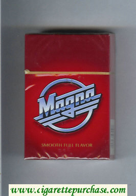 Magna Smooth Full Flavor red cigarettes hard box