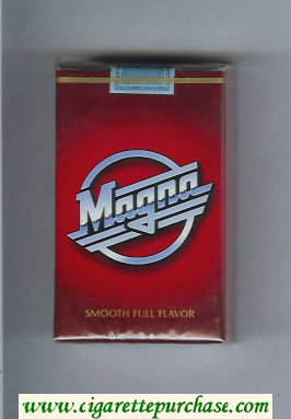 Magna Smooth Full Flavor red cigarettes soft box