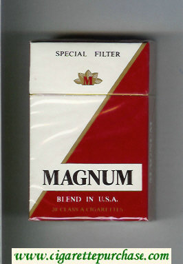 Magnum Special Filter Blend in USA cigarettes hard box