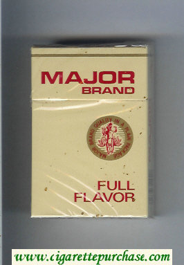 Major Brand Full Flavor cigarettes hard box