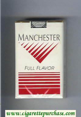 Manchester Full Flavor cigarettes soft box