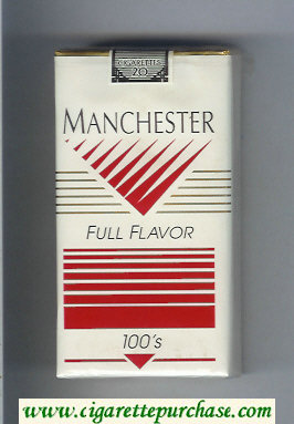 Manchester Full Flavor 100s cigarettes soft box