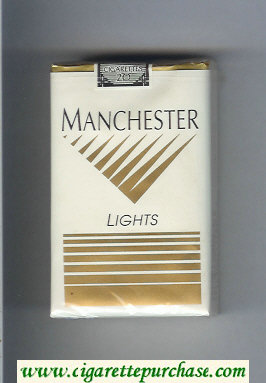 Manchester Lights cigarettes soft box